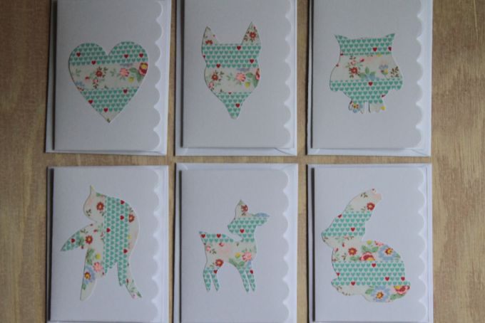 {washi tape} cards & envelopes by Miss Milly on hellopretty.co.za