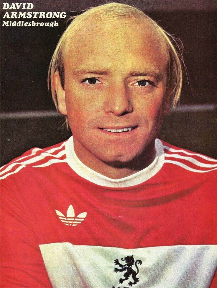 David Armstrong Middlesbrough 1977