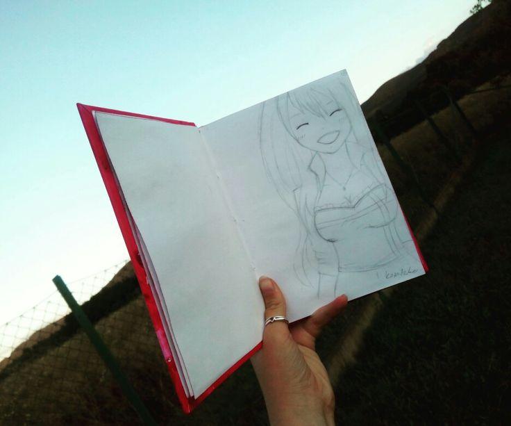 Lucy :3 fairy tail, anime, manga, draw, skatch
