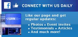 Connect with us on Facebook and Twitter to receive daily updates and join the conversation.