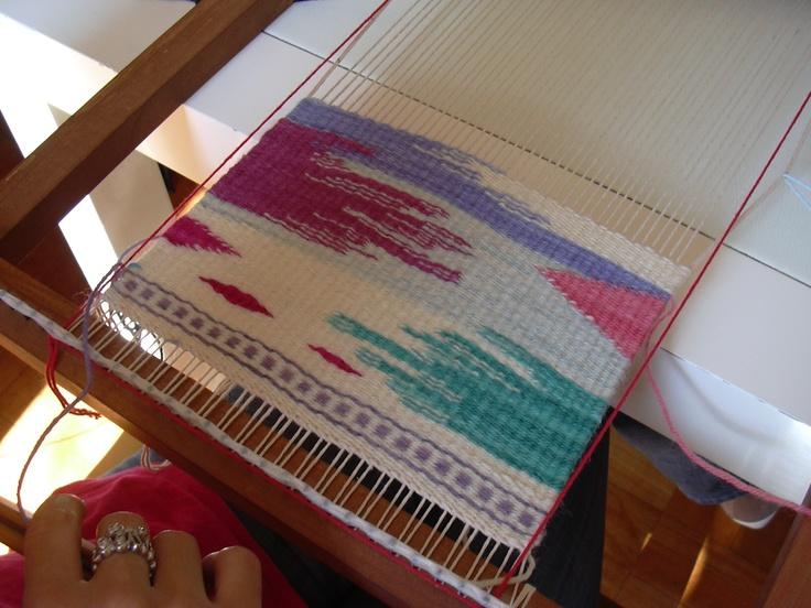 Tapestry of Araceli Mera