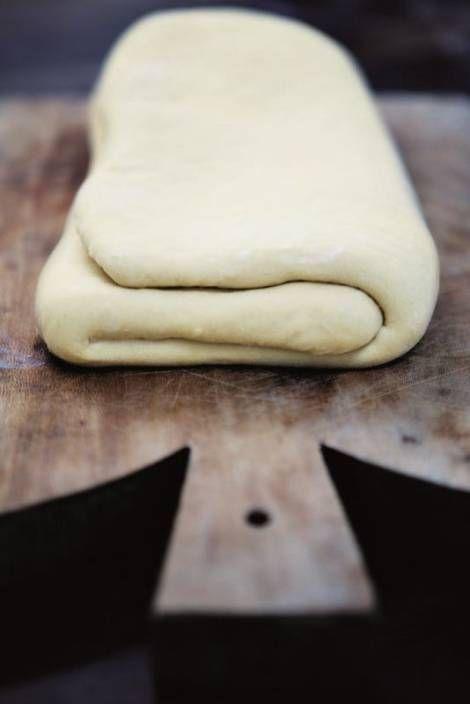 Grunddej til wienerbrød, der slår bagerens