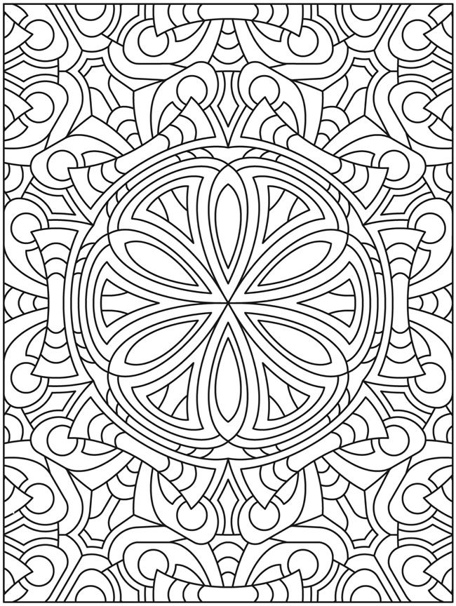 18 Best CREATIVE HAVEN MANDALA MADNESS COLORING Images On