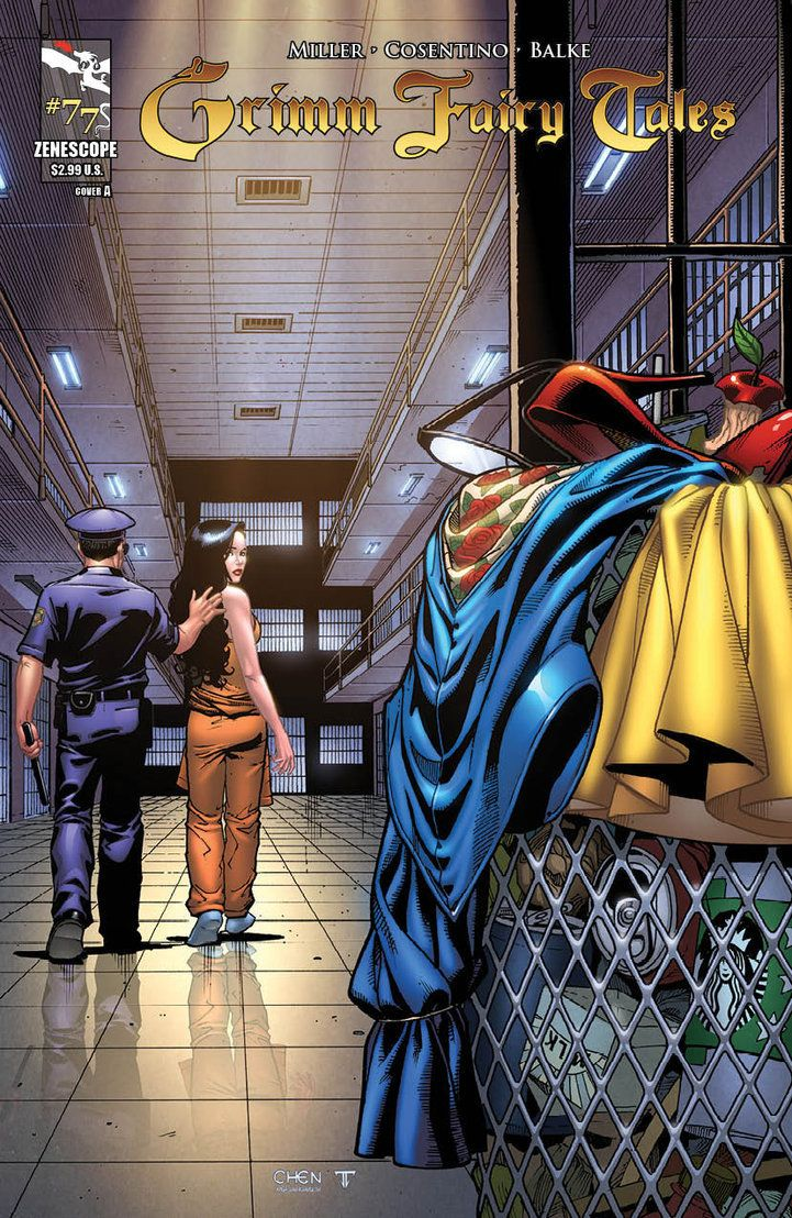 Grimm Fairy Tales Vol. 1 #77 (Variant Cover) (John Romita Sr.'s Amazing Spider-Man Vol. 1 #50 [Splash Page] Homage) Art by: Sean Chen and Juan Fernandez
