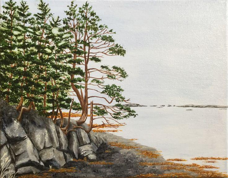 Rankin Road Acrylic on canvas