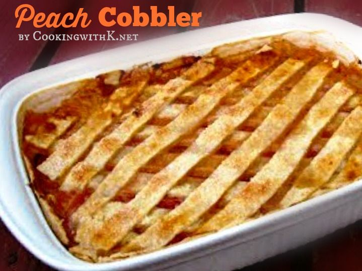Double Crust Old Fashioned Apple Cobbler