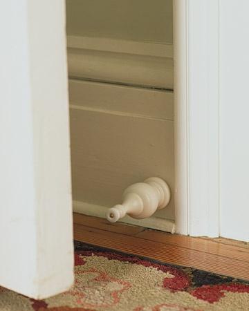 Finial Doorstop. Oh, Martha.