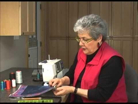 The Quilt Show Tutorial: Sharon Pederson - Lesson 21a - Reversible Binding, pt 2