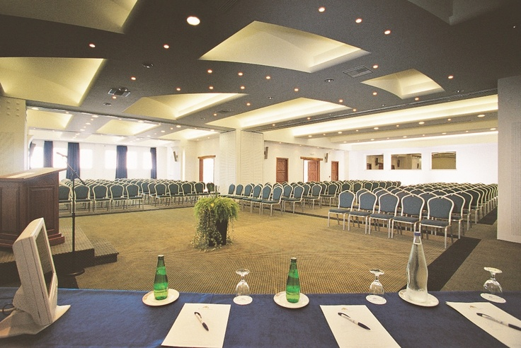 The main conference room is found in the main building under the hotel lobby and lounges that can be combined for cocktails, coffee breaks or as an extended exhibition area - Mykonos Grand Hotel & Resort
