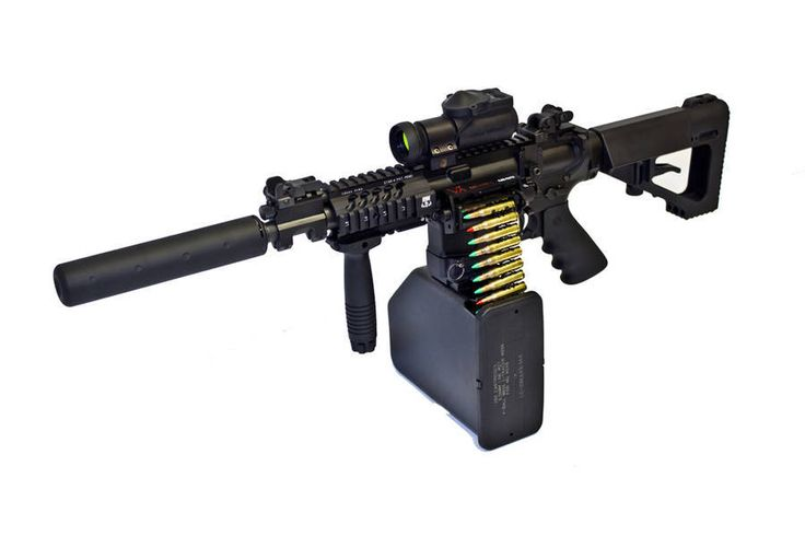Valkyrie Armament Belt-Fed AR (AR-15) 5.56mm NATO/.223 Rem. Automatic Rifle/Carbine/SBR: Stoner 63 Modular Weapons System Revisited. Turn your select-fire/full-auto AR into a true light machine gun (LMG)/squad automatic weapon (SAW). | DefenseReview.com (DR): An online tactical technology and military defense technology magazine with particular focus on the latest and greatest tactical firearms news (tactical gun news), tactical gear news and tactical shooting news.