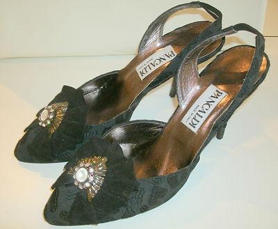 Vintage Sandales D'impression Hermès Numérique - Noir ZBvKisEA6