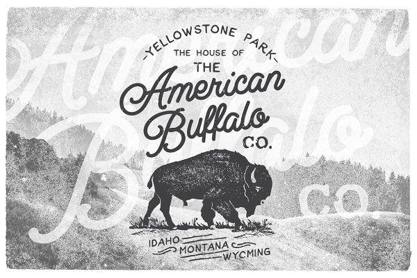 American Vintage Badges 5 - Logos