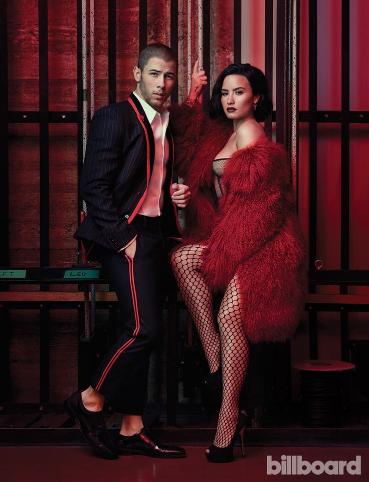 Demi Lovato  and Nick Jonas - Billboard Magazine July 30, 2016