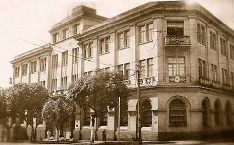 Edifício sede da 'Booth Line', empresa de navegação de capital inglês que operava na Amazônia desde 1888, foi inaugurado em 1940.Demolido na década de 80