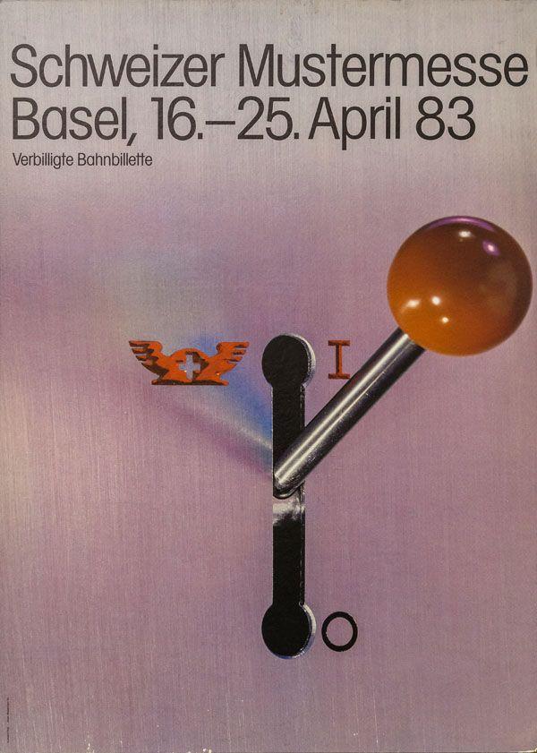 At. Humbert + Vogt Studios, Schweizer Mustermesse Basel, 1983