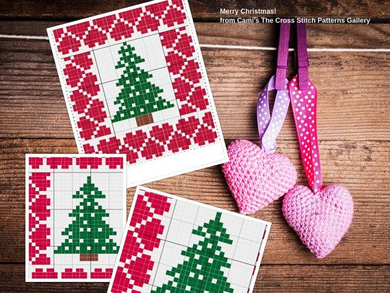 Christmas with Love Cross Stitch Pattern  by CamisTheCrossStitch