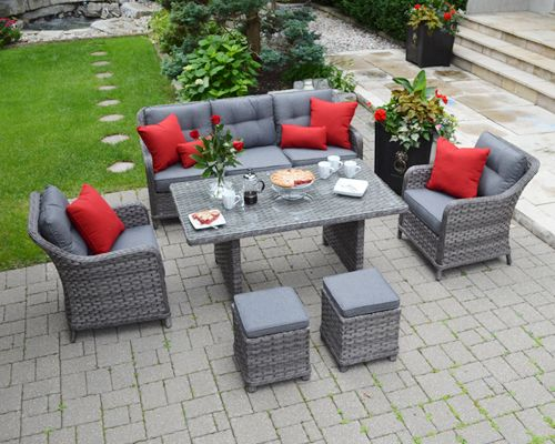 The Panama Resin Wicker Patio Furniture Collection Is An Exceptional Choice  For Relaxing Outdoors. Strong