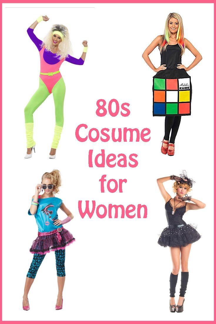 80s Costume Ideas for Women