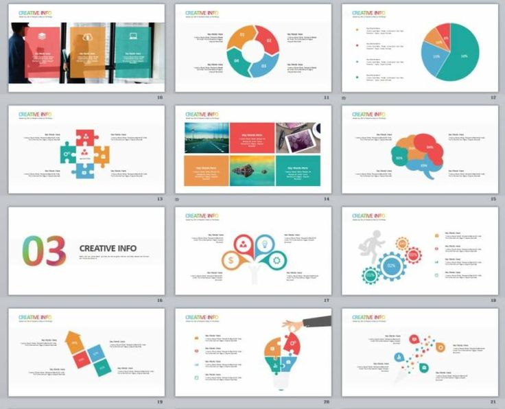 35 best 2018 Infographic powerpoint templates images on Pinterest - resume powerpoint template