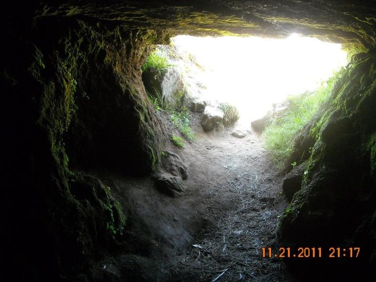 Cueva del Fuerte de Niebla, Valdivia, Los Ríos