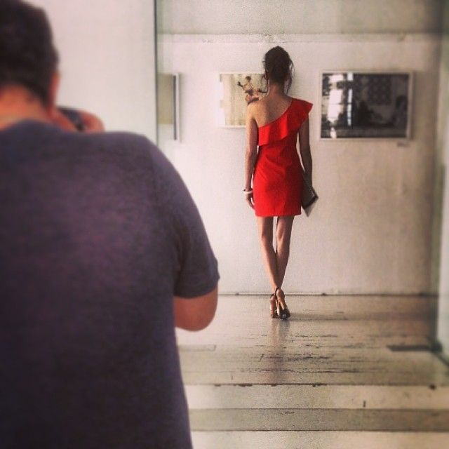 Summer SS14 backstage! #Doca #backstage #latest #fashion #trends #three #new #faces #many #secrets #stay #tuned #ss14 www.doca.gr