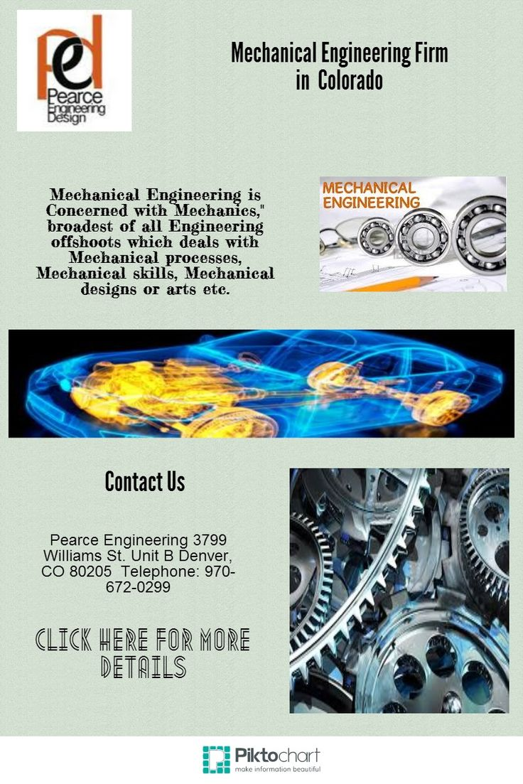 """Mechanical Engineering is Concerned with Mechanics,"""" broadest of all Engineering offshoots which deals with Mechanical processes, Mechanical skills, Mechanical designs or arts etc."""