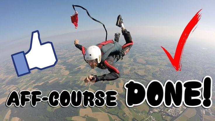 Skydiving AFF Course complete -Skydiving Eggenfelden