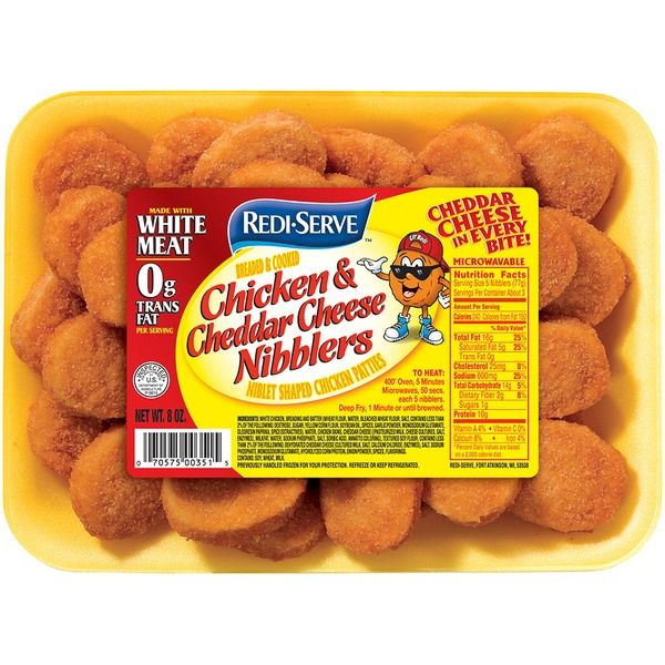 Redi-serve Chicken & Cheddar Cheese Nibblers