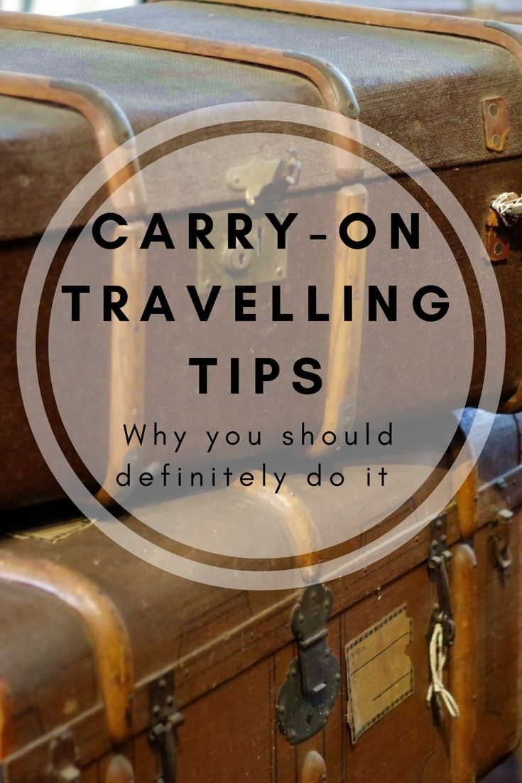 Travel packing tips, carry-on travel, travel tips