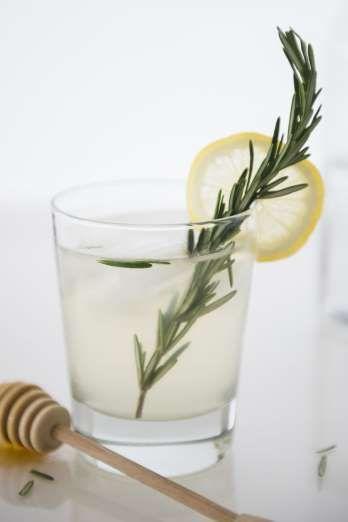 Ingredients:25 oz. Diplomático Reserva Exclusiva rum15 oz. Lemon Juice10 oz. Rosemary & Thyme Simple... - Getty