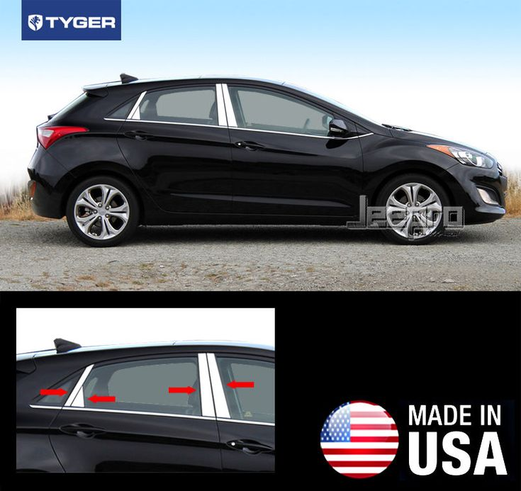 awesome Great TYGER Fits 12-2015 Hyundai Accent Hatchback 8PC Stainless Steel Pillar Post Trim 2018 Check more at http://24carshop.com/cars-gallery/great-tyger-fits-12-2015-hyundai-accent-hatchback-8pc-stainless-steel-pillar-post-trim-2018/