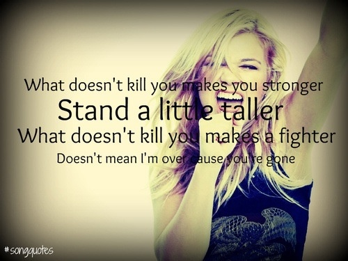Kelly Clarkson is such an inspiration to so many. We're huge fans!