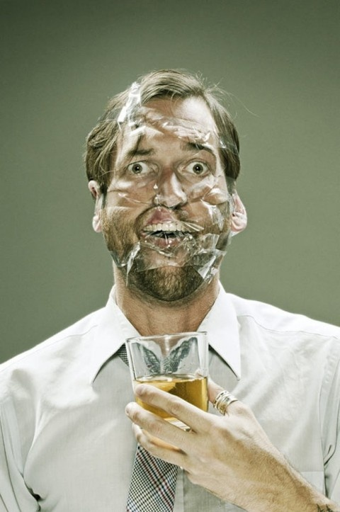 A photographic series by Wes Naman involving scotch-taped faces is making me contemplate the pain of ripping out facial hair on a whole new level. It helps that his subjects all have this bemused expression despite having their mugs all tightly bound by scotch tape. Ouch.    January 28, 2013   New Photography   by  Low Lai Chow  