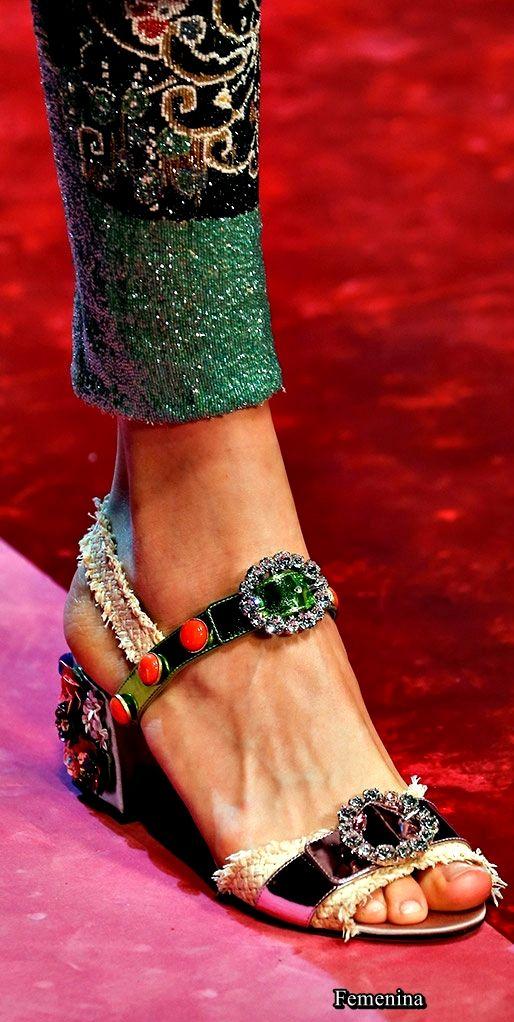 Dolce   Gabbana Spring Summer 2018  dolcegabbana  shoes  45146c22c62