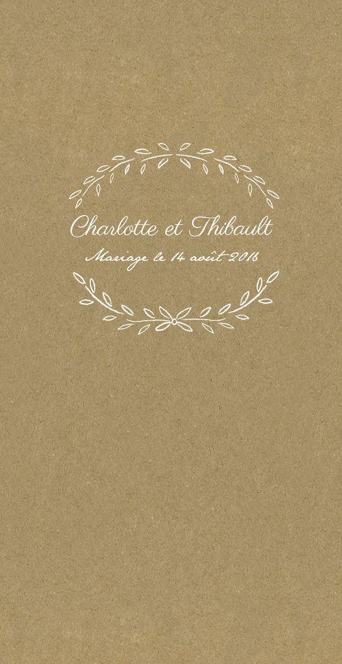 menu de mariage poème by Tomoë pour www.fairepart.fr #mariage #wedding #atelierosemood #rosemood #atelierrosemood