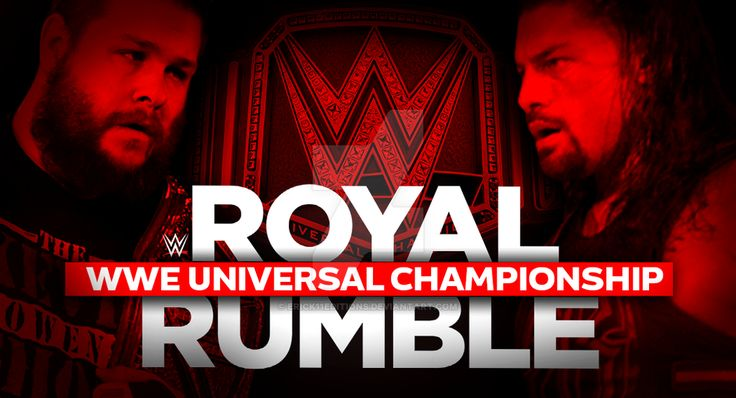 WWE Royal Rumble 2017 (WWE World Championship) (Promo)