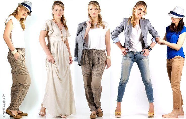 Модная стильная одежда, как базовый гардероб женщины