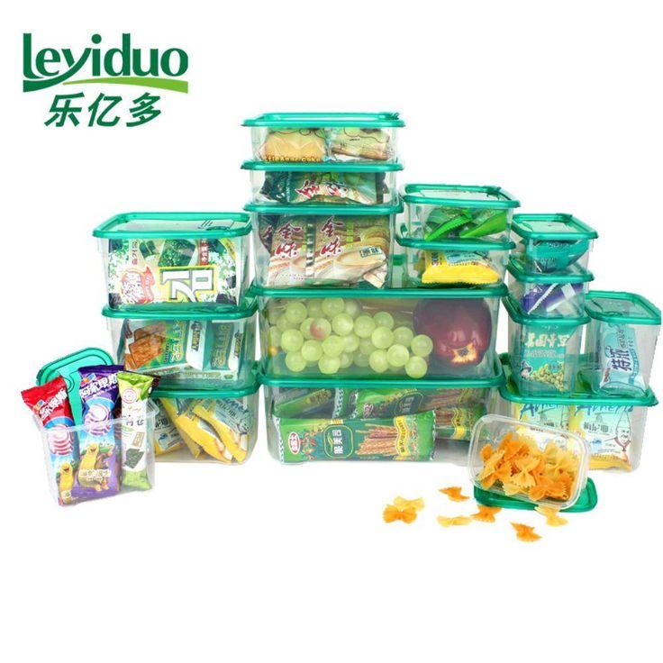 Tapoer - Le milhões crisper geladeira caixa de armazenamento caixa de armazenamento lanche lancheira aquecida 17 conjuntos Jamek | PontoFrio.com
