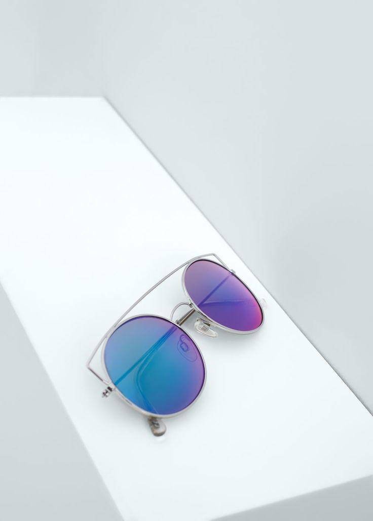 Gafas de sol lentes espejo | MNG