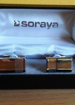Kup mój przedmiot na #vintedpl http://www.vinted.pl/akcesoria/inne-akcesoria/18998238-spinki-do-koszuli-srebrne-soraya