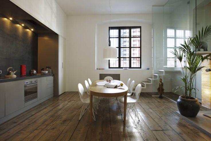 Im Zentrum von Mailand wurde in einer alte Seifenfabrik aus dem 19. Jahrhundert coole Lofts geplant.