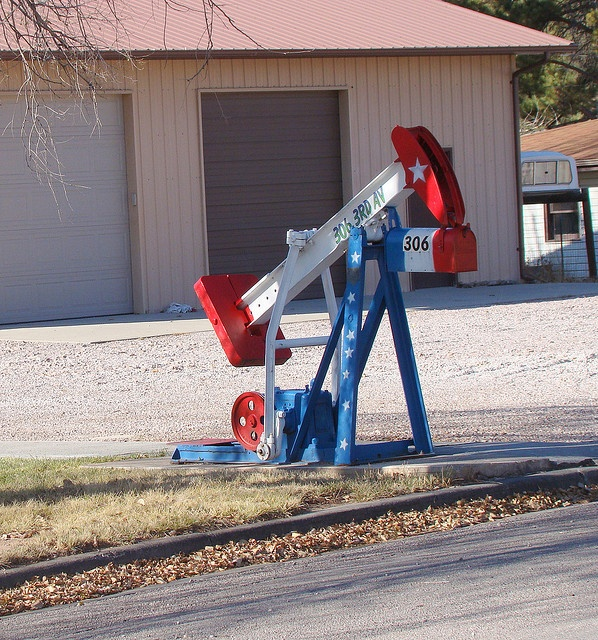 Oil Pump Mail: Drilling For Mail. Pin If You Like It! :) #mailbox