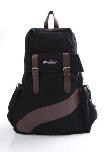 Vorto - black  - FREE RAINCOVER - unisex - waterproof - laptop sleeve - ransel - tas punggung