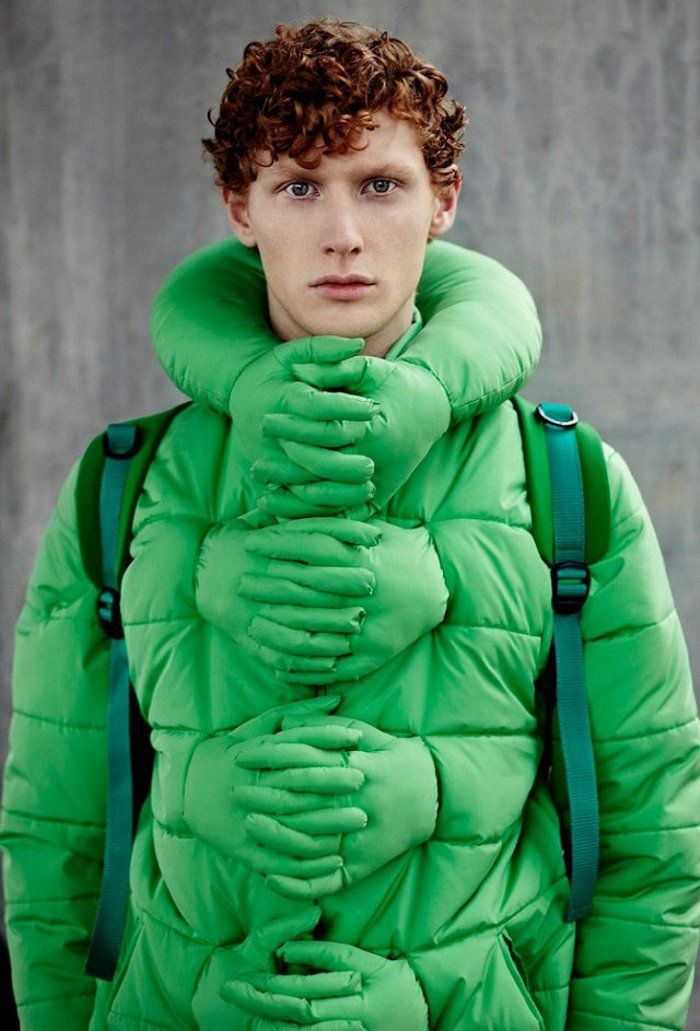 """""""Cold, Sad, and Lonely? The 'Hug Me' Jacket Would Be Ridiculously Perfect for You!"""" hahahhaha"""
