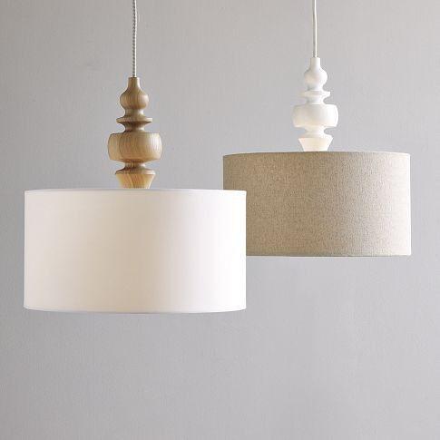 DIY pendant light - West Elm