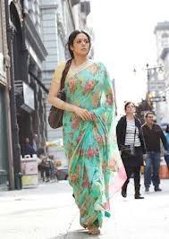 sridevi english vinglish - beautiful floral saree