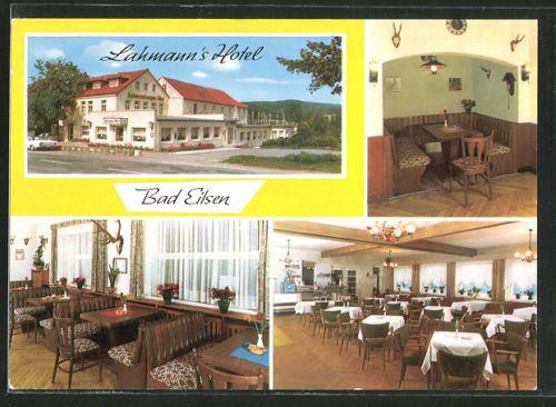 alte-AK-Bad-Eilsen-Lahmann-s-Hotel-Bes-Edmund-Hose-Bueckeburger-Str-19