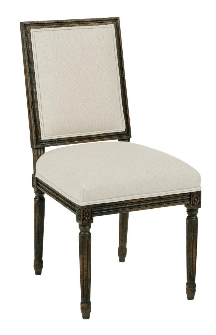 width x depth x height kincaid furniture shoppe dining black forest traditional upholstered french side chair at belfort furniture