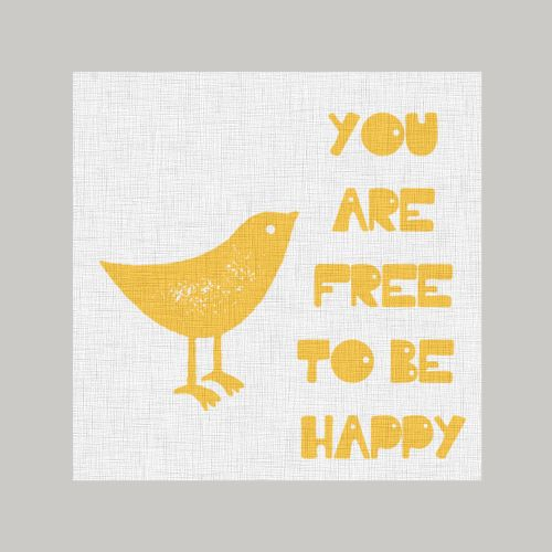 You are Free to be Happy oleh balinea