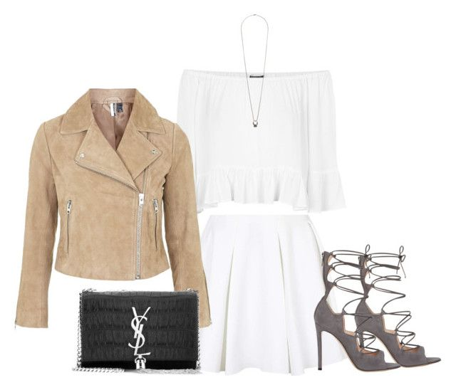 """""""Untitled #148"""" by futte22 on Polyvore featuring Gianvito Rossi, Topshop and Yves Saint Laurent"""